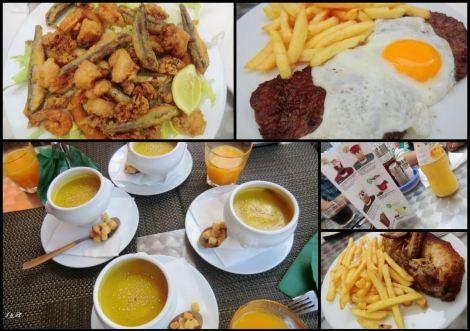 Food restaurant Park Guell